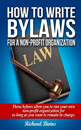 How to Write Bylaws for a Nonprofit Organization