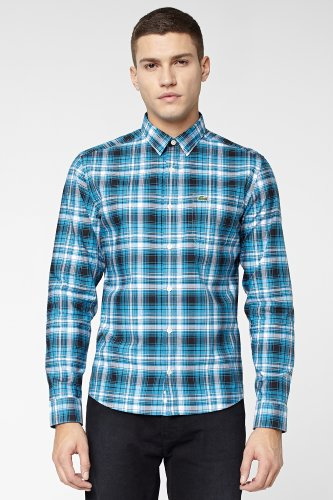 L!VE Long Sleeve Plaid Woven Shirt