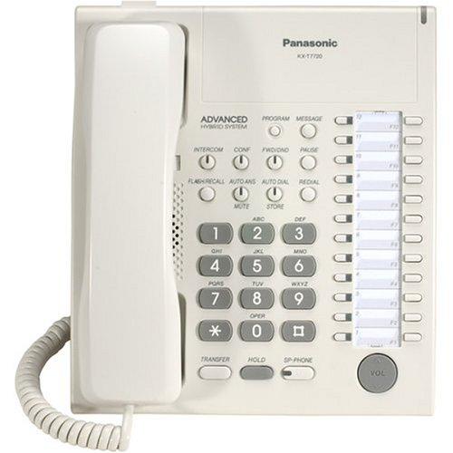 Panasonic Kx-Tg7720 Na 1-Handset 6-Line Landline Telephone