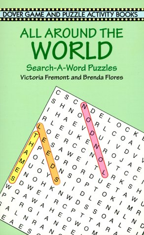 Image for All Around the World Search-a-Word Puzzles