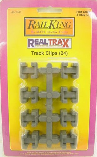 MTH 40-1041 RealTrax Track Clips (24) - 1