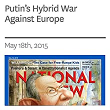Putin's Hybrid War Against Europe (       UNABRIDGED) by Edward Lucas Narrated by Mark Ashby