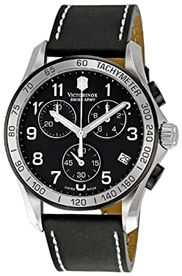 Victorinox Swiss Army Men's 241404 Chrono Classic Black Dial Watch