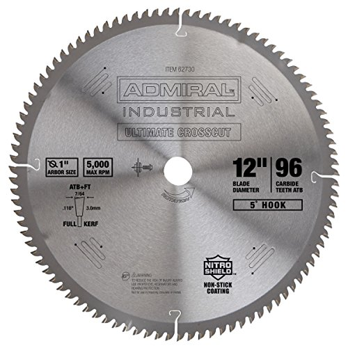 12 inch 96 Tooth C3 Tungsten Carbide Tipped Crosscut Blade (12 Inch 96 Tooth Saw Blade compare prices)