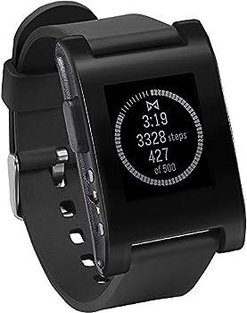 Pebble 1.26'' E-Paper Water Resistant Smartwatch