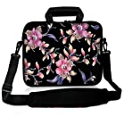Flower 10 Laptop Shoulder Bag Sleeve Case+Handle For 10.1 Samsung Galaxy Tab 2 Tablet,10.1 Google Andrioid 2.2 4.0 Tablet PC,Netbook Apple iPad / iPad 1 2 3 4 5 air /New iPad Tablet Laptop,Polaroid 10.1 Internet Tablet,Samsung ATIV Tab 10.1/PX102/ICOU10/WikiPad,10.1 Acer Iconia Tab A200 Tablet PC,10.2 Flytouch 3 SUPERPAD 2 Tablet,10.1 ASUS Eee Pad TF10 Tablet PC Sony HP,Acer Aspire One 10 Laptop Computer