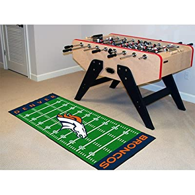 Fanmats Denver Broncos Team Runner