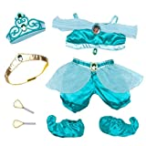 Build a Bear Workshop, Jasmine Costume 7 pc. Teddy Bear Disney Outfit