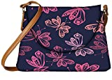 Snoogg Throws Butterflies Designer Womens Carry Around Sling Bags