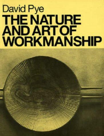 The Nature and Art of Workmanship (Design Handbooks)