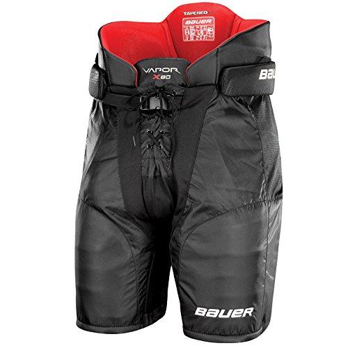 Bauer Vapor X80 Junior Ice Hockey Pants, X-Large, Black (Junior Hockey Pants compare prices)