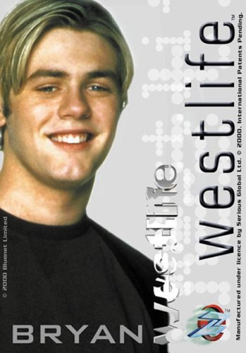 Westlife: Bryan CD-Rom Card