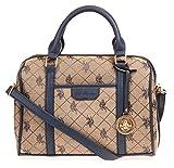 U.S. Polo ASSN. Designer Handbags Women's Logo Jacquard Satchel Bag - Navy...