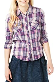 Angel Pure Cotton Checked Shirt [T74-1556A-S]
