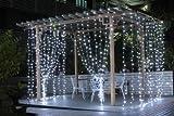 Dealbeta--Rideau Lumineux LED Guirlande Lumineux 2.8×3.3M 308 leds avec 8 Modes de Fl
