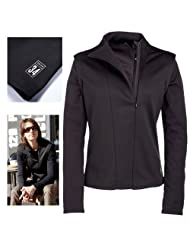 Union 34 Signature Womens Water Resistant Jersey - Black 14, Blk