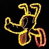 【ディズニー】 LED 2Dモチーフライト にっこりプルート