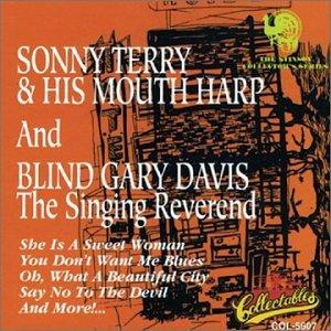 SONNY & HIS MOUTH HARP & BLIND GARY DAVIS SINGING