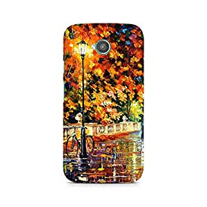 Mobicture Nature Abstract Premium Designer Mobile Back Case Cover For Moto E2