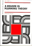 A Reader in Planning Theory (0080170676) by Faludi, Andreas