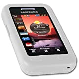 IGloo Flexible Soft Silicone Skin Case for Samsung S5230 Tocco Lite - White