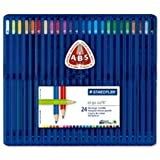 Staedtler ergosoft 157 SB24 Coloured Pencils Box 24by Staedtler