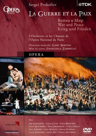 Prokofiev - War And Peace / Bertini, Gunn, Kit, Mamsirova, Gouriakova, Brubaker, Paris Opera