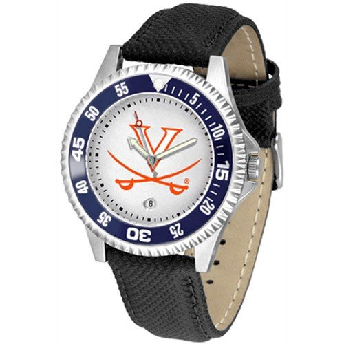 Virginia Cavaliers Leather Competitor Sport Watch