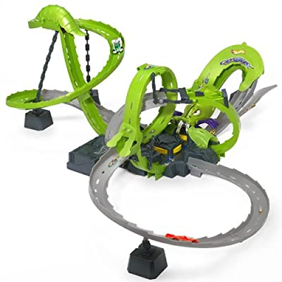 Hot Wheels Octoblast Motorized Racing Track Set