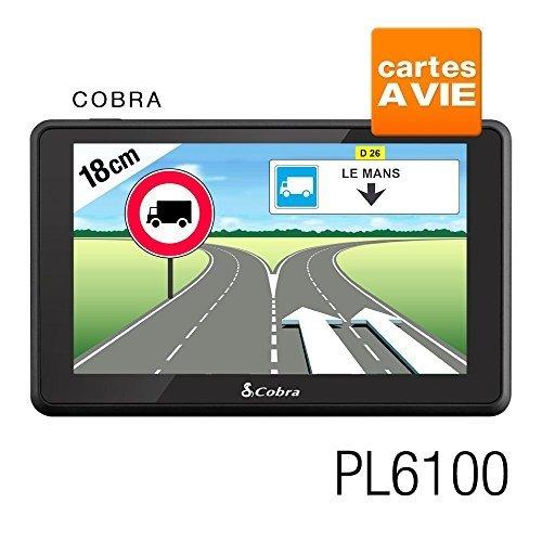 Cobra-Pl6100-Gps-Camion-Europe-Logiciel-Truckmate-De-Snooper