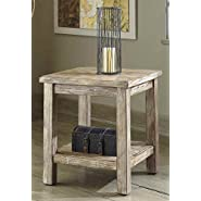 Vintage Rustic End Table