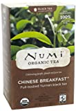 Numi Organic Tea Chinese Breakfast, Full Leaf Black Tea, 18-Count Tea Bags (Pack of 3) Reviews