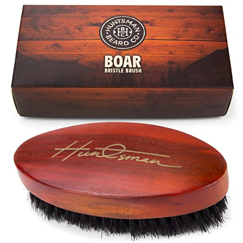 Boar-Bristle-Beard-Brush-Perfect-For-Balms-and-Oils-Natural-Soft-Boars-Hair-For-Help-Softening-And-Conditioning-Itchy-Beards-Presented-in-Cardboard-Gift-Box