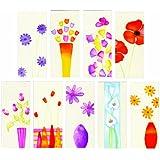 27 Slim Blank Multi Purpose Greeting or Birthday Cardsby Greetingsbox Blank...