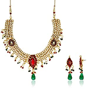 Buy Sia Art Jewellery Set For Women Multi Color AZ1135 Online At Low Prices In India