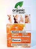 Dr Organic Manuka Honey Rescue Cream Bioactive Skincare 1.7 oz