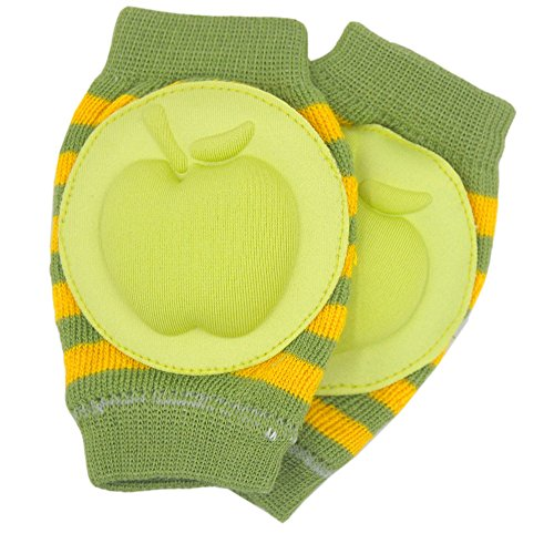 New Baby Crawling Knee Pad Toddler Elbow Pads 805525 Green-yellow