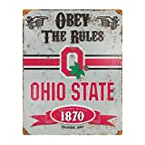 NCAA Vintage Metal Sign NCAA Team: Ohio State University Amazon.com