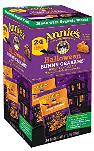 Annie's Homegrown Halloween Bunny Graham Pack, 9.7-Ounce