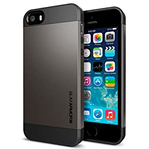 Spigen iPhone 5S/5 Case Slim Armor S Gunmetal SGP10475