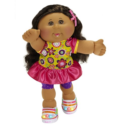Cabbage Patch Kids Twinkle Toes: A/A Girl Doll, Black Hair, Brown Eyes front-10718