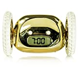 SUCK UK Clocky - The Runaway Alarm Clock - Gold