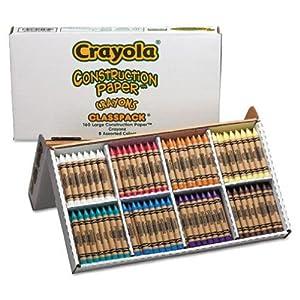 Crayola 160ct Large Construction Paper Crayons
