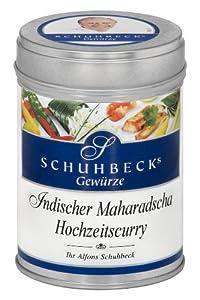 Schuhbeck Schuhbecks Indischer Maharadja Hochzeitscurry, 1er Pack (1 x 60 g)