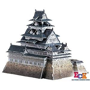 3d castle puzzle instructions