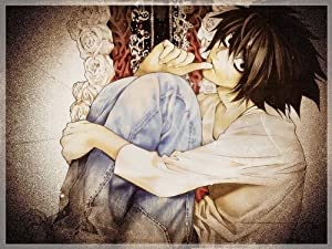 "Death Note Light Kira L Anime 19"" poster 024 C"
