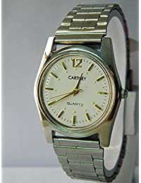 Cartney Analog White Dial Water Proof Wrist Watch For Men's