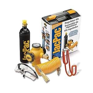 JacPac J-6901-91 Portable Compressed CO2 Pneumatic Regulator Kit