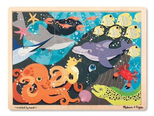 Melissa & Doug Ocean Pals Jigsaw Puzzle (24-Piece)