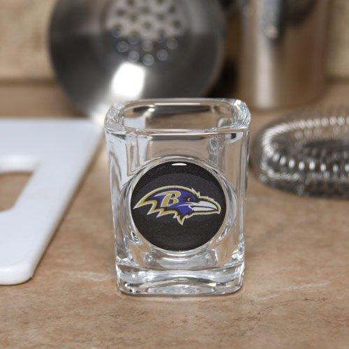 Baltimore Ravens Square Shot Glass